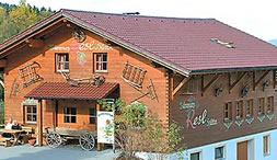 Familienfreundlichen Abenteuer Berghütten.